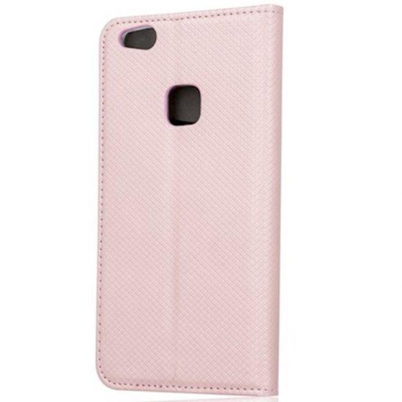 Samsung Galaxy A52 / A52 5G SM-A525F / A526B, Oldalra nyíló tok, stand, Smart Magnet, vörösarany