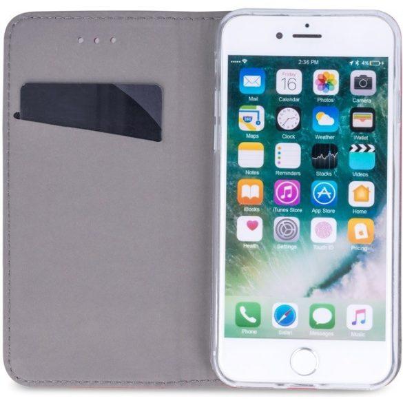 Samsung Galaxy A52 / A52 5G SM-A525F / A526B, Oldalra nyíló tok, stand, Smart Magnet, sötétkék