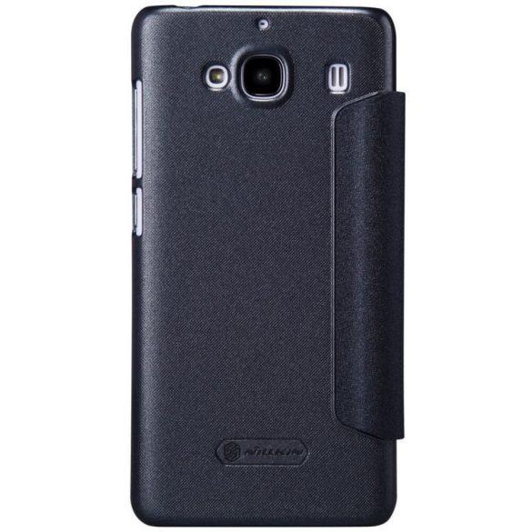 Xiaomi Redmi 2, Oldalra nyíló tok, hívás mutatóval, Nillkin Sparkle, sötétszürke